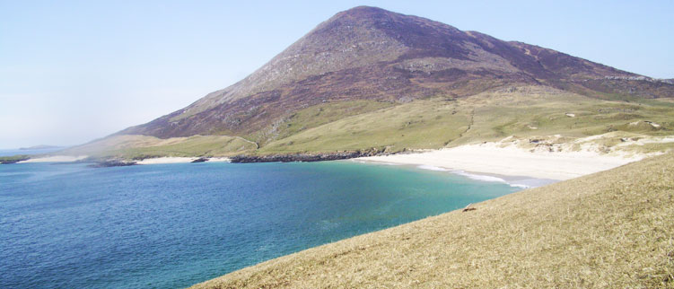 A beach in Harris
